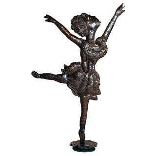 Recycled Steel Drum Ballerina Statue (Haiti)