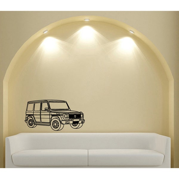 Mercedes Gelandewagen GL SUV Wall Art Vinyl Decal Sticker