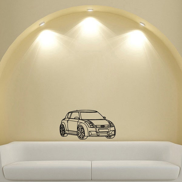 Scion Cooper Suzuki Wall Art Vinyl Decal Sticker