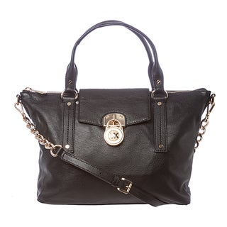MICHAEL Michael Kors 'Hamilton' Medium Black Slouchy Satchel