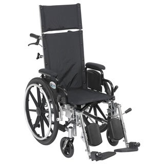 Viper Plus Lightweight Reclining Elevating Legrest Flip-back Detachable Arm Wheelchair