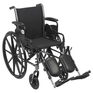 Cruiser III Lightweight Flip-back Removable Arm Wheelchair