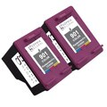 Sophia Global Remanufactured Ink Cartridge Replacement for HP 901XL with Ink Level Display (Pack of 2)