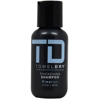 Towel Dry Thickening Men's 2-ounce Shampoo