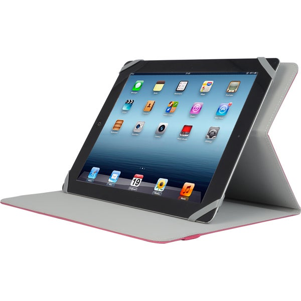 "V7 Slim TUC20-10-RED-14N Carrying Case (Folio) for 10.1"" iPad, Tablet"