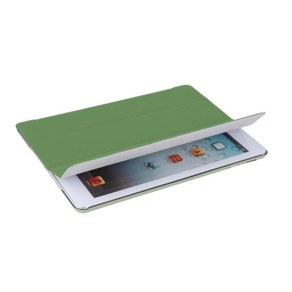 V7 Ultra Slim TA55-10-GRN-14N Carrying Case (Folio) for iPad Air - Gr