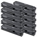 Dell 1160 (331-7335, HF442) Remanufactured Compatible Black Toner Cartridges (Pack of 10)