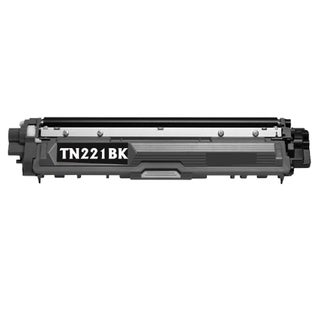 Brother TN221BK Remanufactured Compatible Black Toner Cartridge