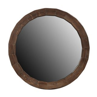 Privilege Small Reclaimed Round Mirror