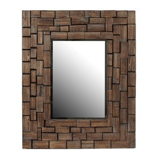 Privilege Reclaimed Rectangle Mirror