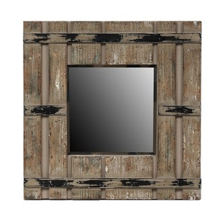 Privilege Square Reclaimed Mirror