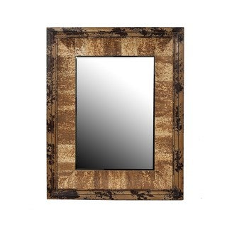 Privilege Vintage Reclaimed Wood Wall Mirror