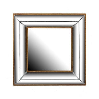 Privilege Deco Silver Wall Mirror