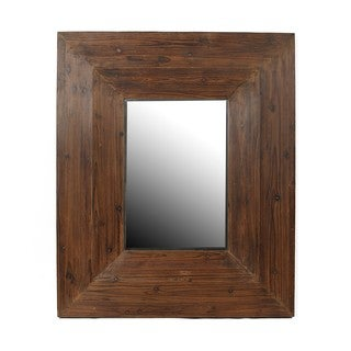 Privilege Reclaimed Wood Wall Mirror