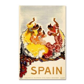 Unknown 'Spain - Women Dancing' Canvas Art
