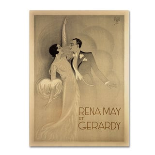 Unknown 'Rena May Et Gerardy' Canvas Art