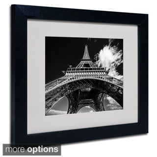 Yale Gurney 'Paris Eiffel Tower 1' Framed Matted Art