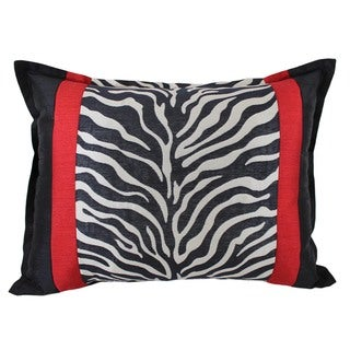 Sherry Kline True Safari Zebra Boudoir Pillow