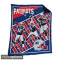 NFL Biggshots AFC Marque Snuggle Cover Overlay Throw Blanket