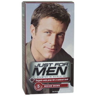 Just For Men Medium Brown Shampoo-in Hair Color (1 Application)