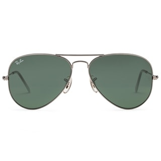 Ray Ban RB3025 Large Aviator Sunglasses - W0879 Gunmetal (G-15XLT Lens) - 58mm