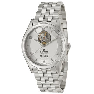 Edox Men's Stainless Steel Swiss Mechanical Automatic Watch