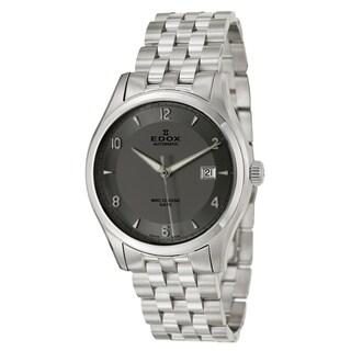 Edox Men's Stainless Steel Swiss Mechanical Automatic Classic Watch
