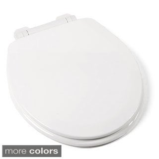 EZ Close Deluxe Rd Wood Toilet Seat