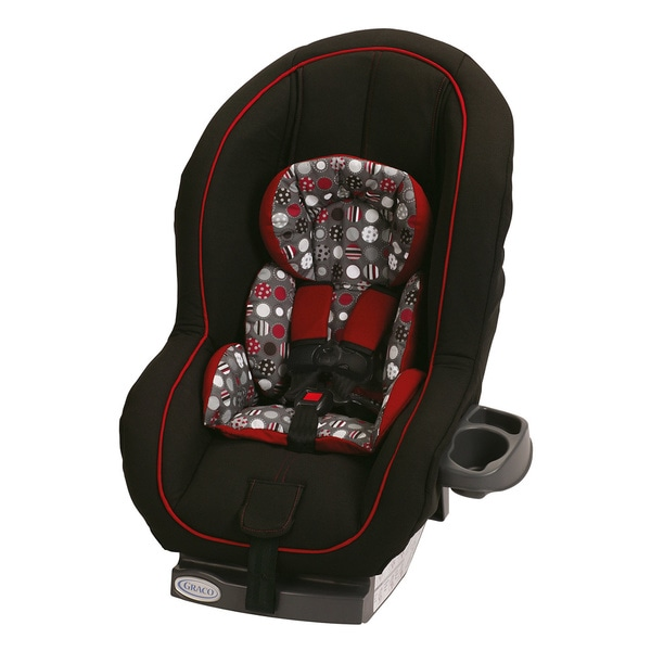 Graco Ready Ride Convertible Car Seat in Dotastic