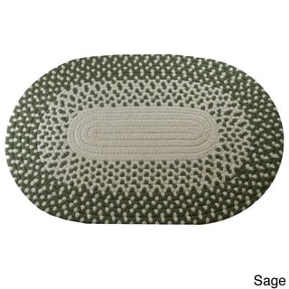 Marysville Braided Area Rug (8' x 10' Oval)