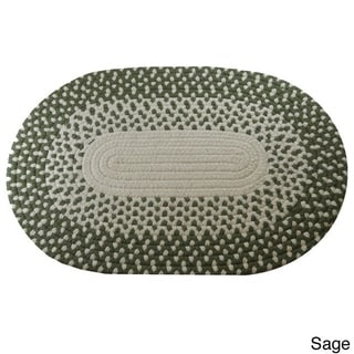 Marysville Braided Area Rug (5' x 8' Oval)