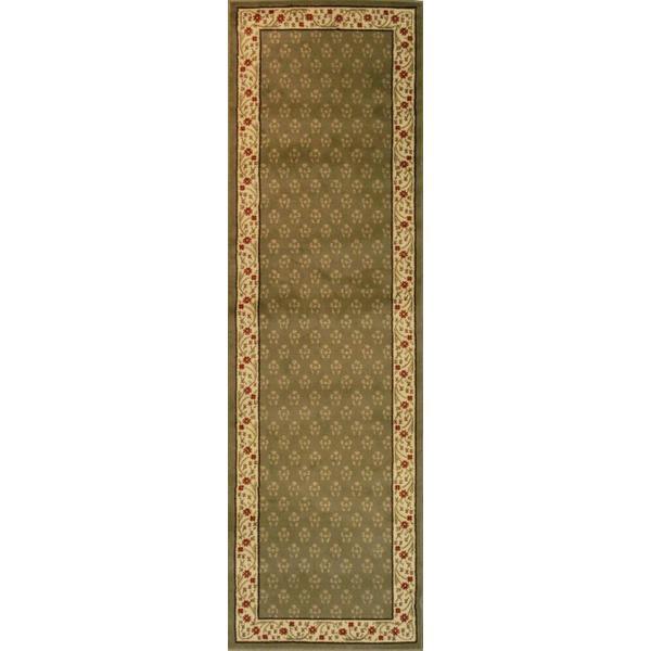 Terrazzo Green Runner Rug (2'3 x 7'3)