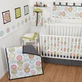 Sumersault Colorburst 10-piece Crib Bedding Set