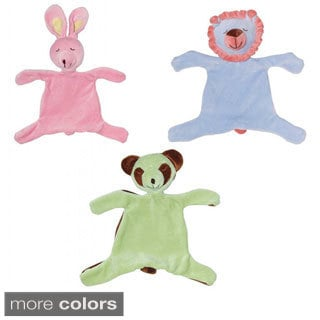 iPlay Organic Velour Blankie Animal