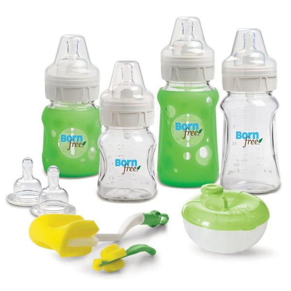 Born Free Premium Glass Newborn Starter Set