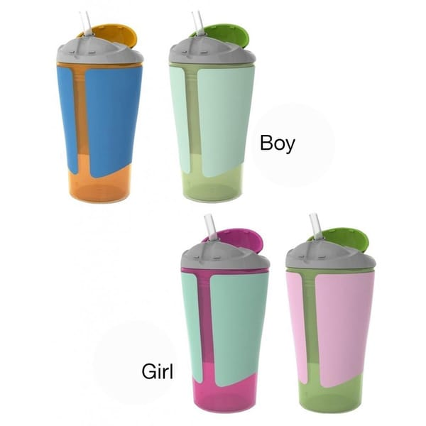 Born Free Grow With Me 10-ounce Straw Cup (2 Pack) 12219572