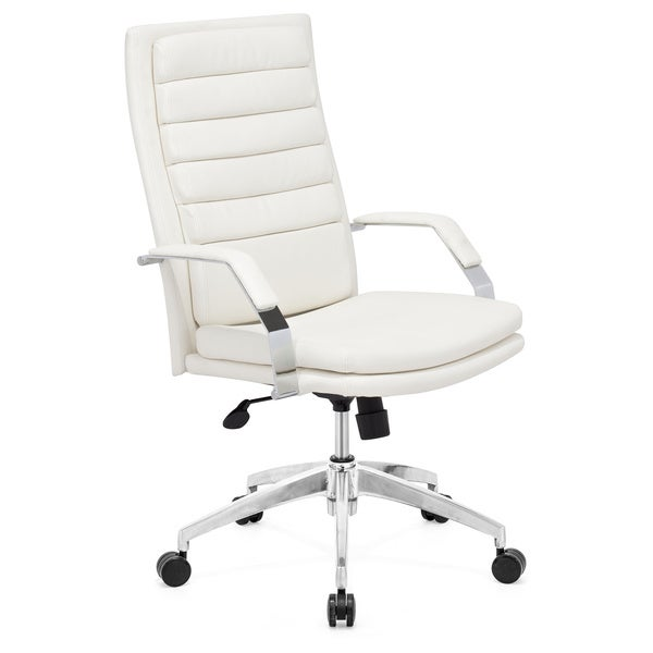 White Office Chair Overstock Shopping Great Deals On Office Chairs
