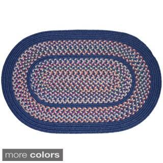 Rhody Rug Tahoe Wool Blend Braided Area Rug (4' x 6')