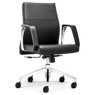 Conductor Low Back Black Office Chair
