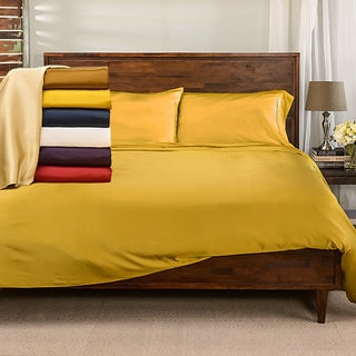 Elle & Alix Pure Mulberry Silk Duvet Cover