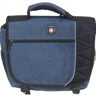 SwissGear The Earth Canvas Computer Messenger Bag