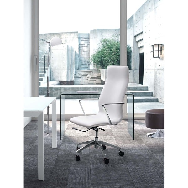 Herald High Back Grey Office Chair