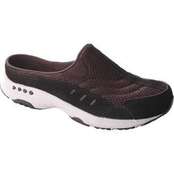 Women's Easy Spirit Traveltime Black/White Suede