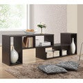Baxton Studio Tillman Dark Brown/ Espresso Modern Display Shelf