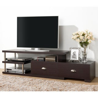 Baxton Studio Ferguson Dark Brown/ Espresso Modern TV Stand