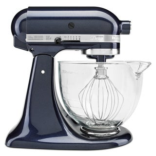 KitchenAid KSM155GBUB Blueberry 5-quart Artisan Design Tilt-head Stand Mixer