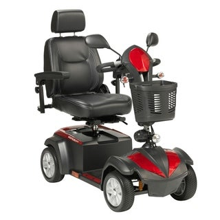 Drive Medical Ventura 4-wheel Scooter with Free Rollator