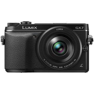 Panasonic LUMIX DMC-GX7 DSLM Camera and LUMIX G 20mm F1.7 II ASPH Lens