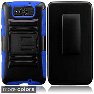 INSTEN Holster Phone Case Cover with Stand for Motorola Droid Maxx XT-1080M