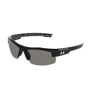 Under Armour Nitro L Performance Eyewear with Satin Black Frame